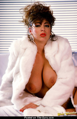 Christy Canyon - Stunning Topless Armenian, American Red Hair Pornstar with Stunning Bare Natural D Size Melons is Undressing (Hd Sex Pix)