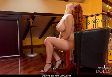 Image. Lilliyth Von Titz Aka Slavka Solnechnaya - naked red hair with big natural tots pic