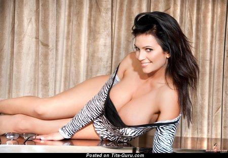 Image. Denise Milani - beautiful woman with huge tittes picture