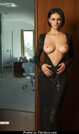 Image. Nude wonderful female with big tots pic