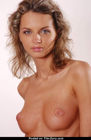 Image. Naked beautiful woman with natural boob picture