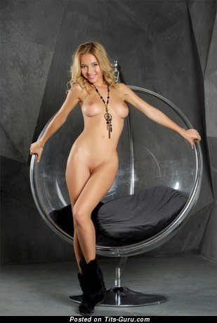 Image. Delilah G - nude blonde with big breast photo