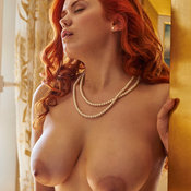 Lilliyth Von Titz Aka Slavka Solnechnaya - red hair with big natural tits pic