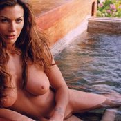 Carre Otis - awesome girl with big natural tots photo
