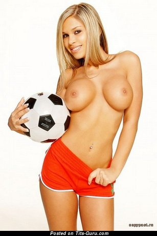 Image. Hot female with big tots image