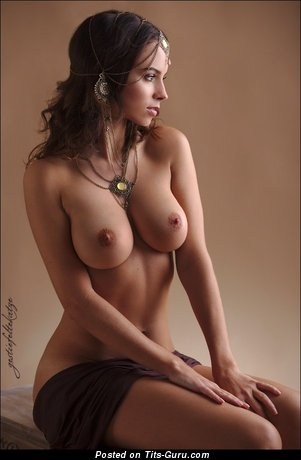 Image. Naked nice lady with big natural tittes pic