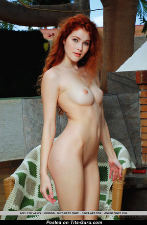 Heidi Romanova - Wonderful Latvian Red Hair Pornstar with Wonderful Defenseless Real Tittes (18+ Photoshoot)