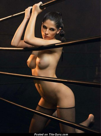 Image. Aline Franzoi - naked hot woman with medium natural tittes photo