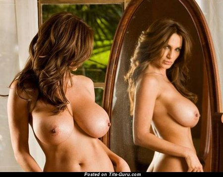 Image. Petra Verkaik - nude brunette with big natural tittys pic