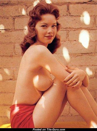 Ellen Stratton - Gorgeous American Playboy Blonde with Gorgeous Bald Real Tight Chest (Vintage Xxx Pix)