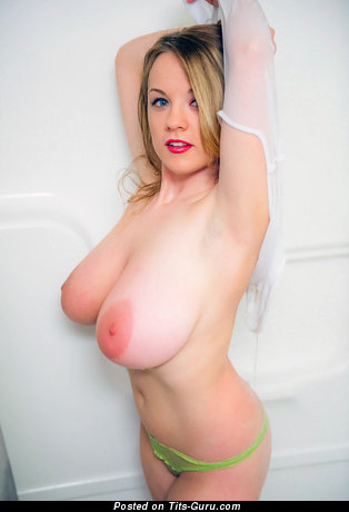 Image. Emily Born - topless hot woman with big natural boobs image