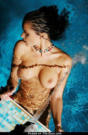 Eugenia Diordiychuk Aka Katie Fey Aka Shawnee Aka Jenya D Aka Jenya K - Pleasing Wet Brunette Babe with Pleasing Bald C Size Tittys (Hd Xxx Pix)