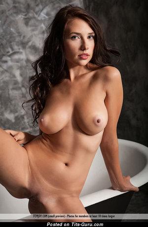 Nikki Jay - naked hot female with medium boobies image