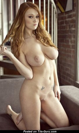 Leanna Decker - Handsome Glamour American Red Hair Actress with Handsome Nude Natural Ddd Size Jugs, Piercing & Tattoo (Hd Xxx Foto)