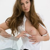 Connie Carter - hot lady with big natural tittes photo