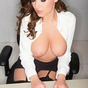 Sabine Jemeljanova - beautiful girl with big breast pic
