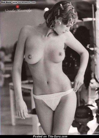 Natasha Henstridge - Wonderful Canadian Blonde Actress with Wonderful Bare Real Titties (Hd 18+ Photo)