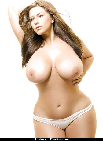 Image. Amazing woman with huge natural boob picture