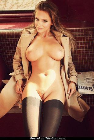 Image. Naked wonderful lady with big boobs photo