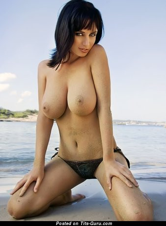 Fascinating Babe with Fascinating Naked Soft Knockers (Hd Porn Foto)