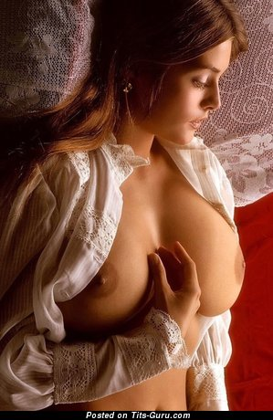 Image. Sexy topless amazing female with natural tits photo