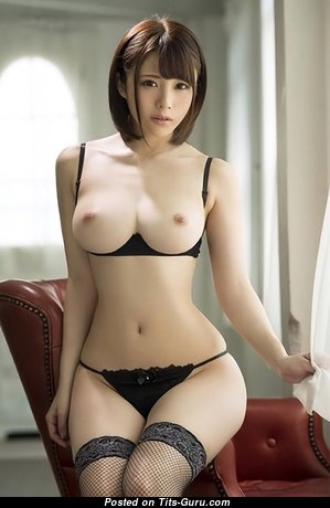 Mayuki Ito - Fascinating Asian Brunette Actress & Pornstar with Fascinating Naked Real Mid Size Tit in Lingerie (Xxx Pix)