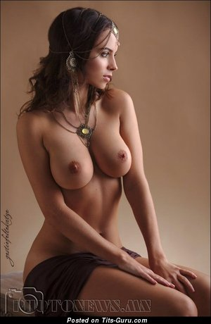 Image. Naked awesome girl with big natural tittes pic