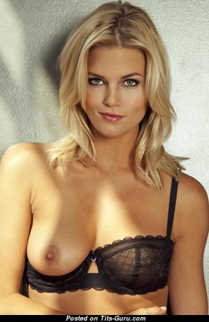 Amazing Blonde Babe with Superb Naked Real Tots is Undressing (Xxx Photoshoot)