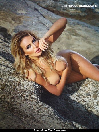 Alina Iliyna - Adorable Playboy Blonde with Adorable Bare Natural Boobys (Hd Sexual Wallpaper)