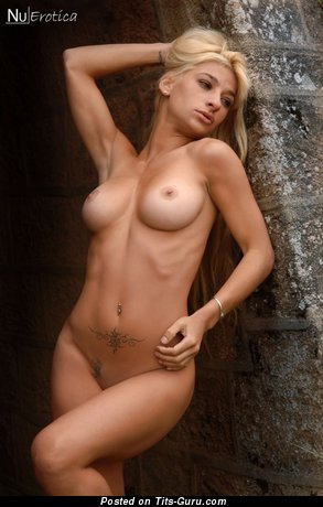 Image. Wonderful lady with natural tittes image