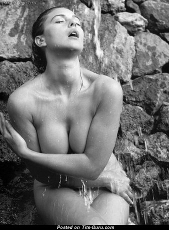 Image. Naked wonderful female with big boob photo