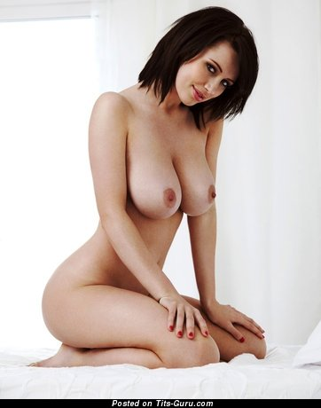 Image. Sexy nude hot woman with big natural boob pic