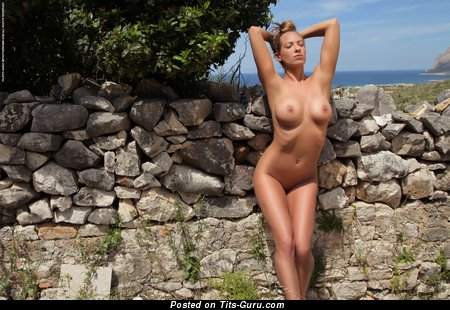 Vivien - Exquisite Czech Blonde with Exquisite Exposed Real Full Boobys (Hd 18+ Photoshoot)