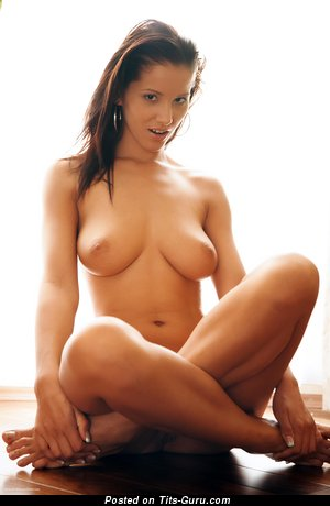 Image. Angel Dark - naked amazing girl with medium natural tittys pic