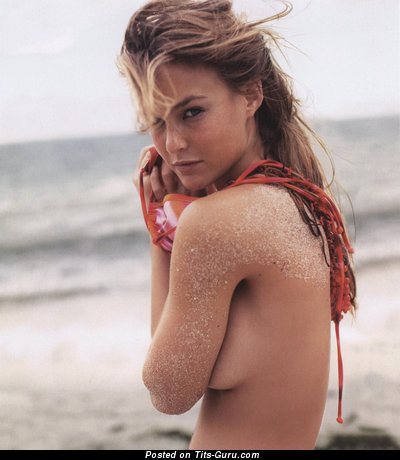 Bar Refaeli - Gorgeous Israeli Blonde Babe with The Best Exposed Real Tots (Hd Sex Image)