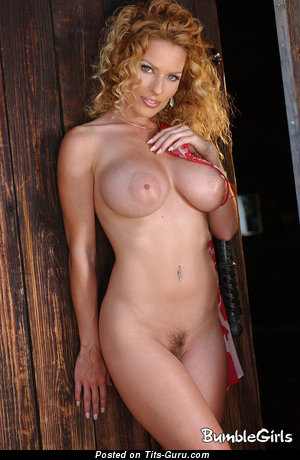 Image. Nude wonderful female with big tots photo