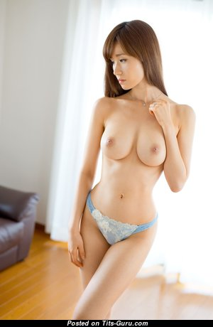 Yuna Hayashi - Awesome Topless Asian Girl with Awesome Nude Real C Size Boobys (Hd Sexual Wallpaper)