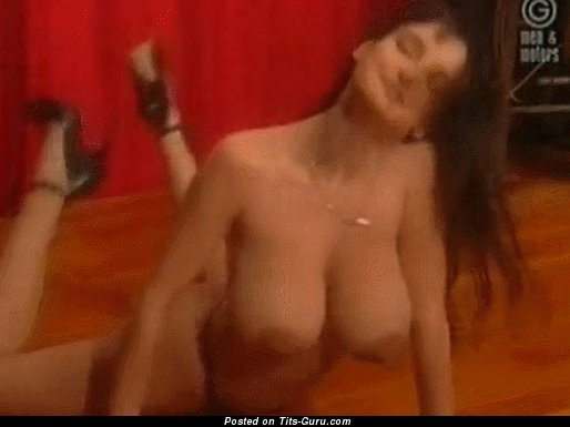 Image. Amazing female with big natural breast gif