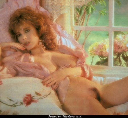 Sarka Lukesova - Exquisite Topless Playboy Red Hair Babe with Exquisite Bald Natural C Size Jugs & Big Nipples (Vintage Hd Xxx Picture)
