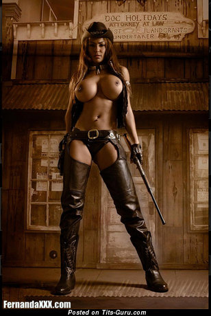 Image. Nude wonderful lady with big fake tittys photo