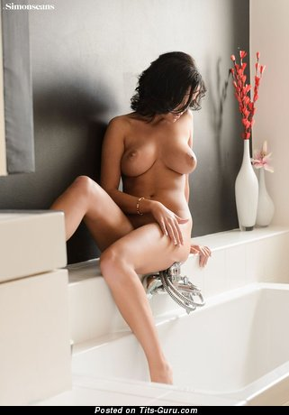 Image. Linette - beautiful lady with big natural boobies image