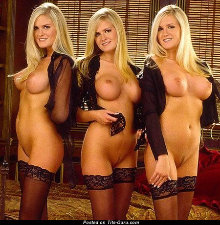Nude hairy young blondes