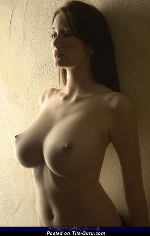 Image. Sexy naked nice female with big breast photo