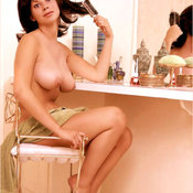 Carie Wright - wonderful woman with big natural breast vintage
