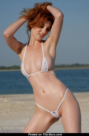 Hot Red Hair Babe with Hot Bald Natural Boobie (Amateur Selfie Hd Xxx Picture)