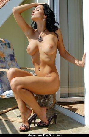 Eugenia Diordiychuk Aka Katie Fey Aka Shawnee Aka Jenya D Aka Jenya K - Alluring Brunette with Alluring Nude Normal Jugs (18+ Pic)