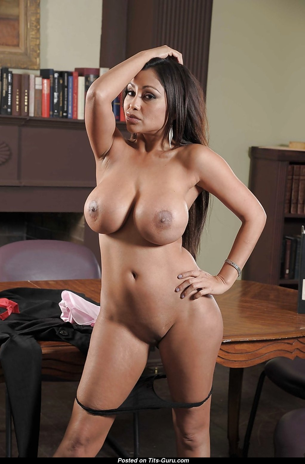 Priya Anjali Rai - Brunette With Exposed Silicone G Size -8216