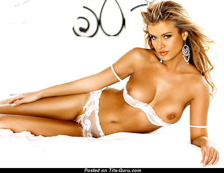 Joanna Krupa - Fine Polish Blonde Babe with Fine Nude Natural Soft Knockers (Xxx Photoshoot)