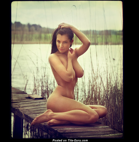 Image. Nude hot woman with big natural boobs image