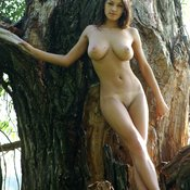 Sofi A - beautiful woman with big natural breast photo